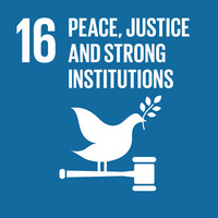 SDG16: Peace, Justice and Strong Institutions+Image